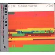 Ryuichi Sakamoto /04 - Four Japan CD album
