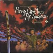Ryuichi Sakamoto Merry Christmas Mr Lawrence UK vinyl LP