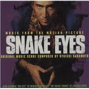 Ryuichi Sakamoto Snake Eyes USA CD album