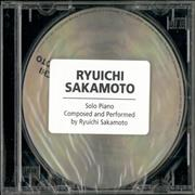 Click here for more info about 'Ryuichi Sakamoto - Solo Piano - The BTTB Sessions - Sealed'