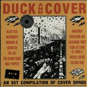 SST Records Duck And Cover - Red Vinyl USA vinyl LP