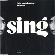 Click here for more info about 'Sabrina Johnston - I Wanna Sing'
