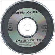 Click here for more info about 'Sabrina Johnston - Peace (In The Valley)'