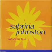 Click here for more info about 'Sabrina Johnston - Satisfy My Love'