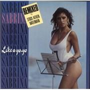 Click here for more info about 'Sabrina - Like A Yo Yo'