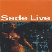 Click here for more info about 'Sade - Sade Live'