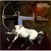Sagittarius Present Tense USA vinyl LP