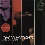 Click here for more info about 'Sahara Hotnights - C'Mon Let's Pretend'