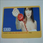 Click here for more info about 'Salad - Cardboy King - Promo Card'