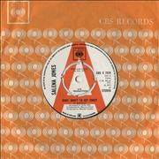 "Salena Jones Baby, Don't Ya Get Crazy - A Label Demo UK 7"" vinyl Promo"