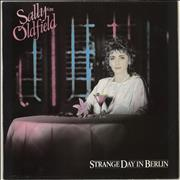 Click here for more info about 'Sally Oldfield - Strange Day In Berlin - Gold promo stamped'