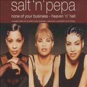 Click here for more info about 'Salt N Pepa - None Of Your Business / Heaven 'n' Hell'