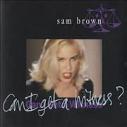 Click here for more info about 'Sam Brown - Can I Get A Witness?'