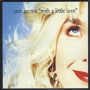 Click here for more info about 'Sam Brown - With A Little Love'