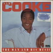 Click here for more info about 'Sam Cooke - The Man And His Music - Stickered sleeve'