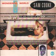 Click here for more info about 'Sam Cooke - Wonderful World + Sleeve'
