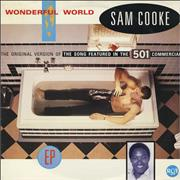 Click here for more info about 'Sam Cooke - Wonderful World EP'