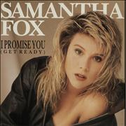 Click here for more info about 'Samantha Fox - I Promise You - Poster Pack'