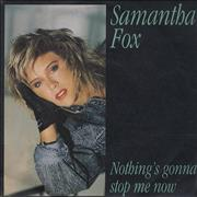 Click here for more info about 'Samantha Fox - Nothing's Gonna Stop Me Now'