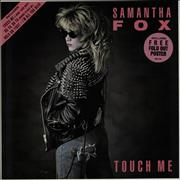 Click here for more info about 'Samantha Fox - Touch Me + Poster'
