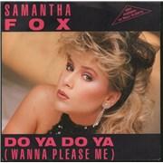 Click here for more info about 'Samantha Fox - Do Ya Do Ya'