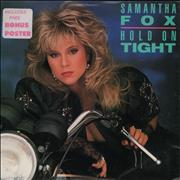 Click here for more info about 'Samantha Fox - Hold On Tight + Poster'
