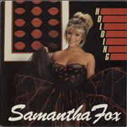 Click here for more info about 'Samantha Fox - Holding'