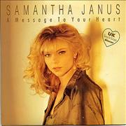 Click here for more info about 'Samantha Janus - A Message To Your Heart'