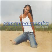 Click here for more info about 'Samantha Mumba - Body II Body'