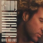 Click here for more info about 'Sammy Hagar - Give To Live'