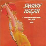Click here for more info about 'Sammy Hagar - I've Done Everything For You'
