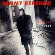 Click here for more info about 'Sammy Kershaw - Haunted Heart - Autographed'