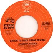 "Samona Cooke Dance To Keep From Crying USA 7"" vinyl"
