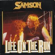 Click here for more info about 'Samson - Life On The Run - Doublepack'