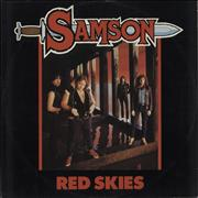 Click here for more info about 'Samson - Red Skies'
