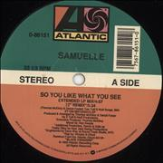 Click here for more info about 'Samuelle - So You Like What You See'