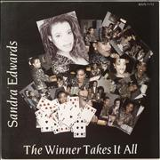 Click here for more info about 'Sandra Edwards - The Winner Takes It All - P/s'