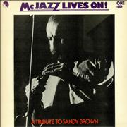 Click here for more info about 'Sandy Brown - McJazz Lives On!'
