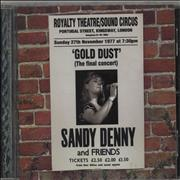 Click here for more info about 'Sandy Denny - Gold Dust - Live At The Royalty'