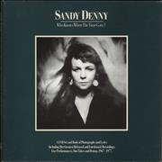 Click here for more info about 'Sandy Denny - Who Knows Where The Time Goes'