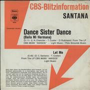 Click here for more info about 'Santana - Dance Little Sister (Baila Me Hermana)'