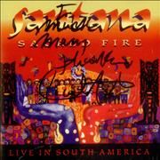 Click here for more info about 'Santana - Sacred Fire - Live In South America - Autographed'
