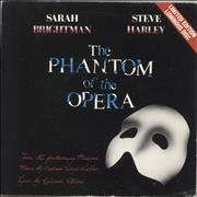 Click here for more info about 'Sarah Brightman - The Phantom Of The Opera - Luminous Vinyl - EX'