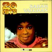 Click here for more info about 'Sarah Vaughan - 20 Hits'