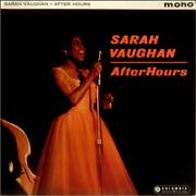 Click here for more info about 'Sarah Vaughan - After Hours - Factory Sample'