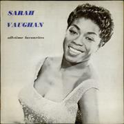 Click here for more info about 'Sarah Vaughan - All Time Favourites - EX'