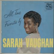 Click here for more info about 'Sarah Vaughan - All Time Favourites'