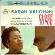 Click here for more info about 'Sarah Vaughan - Close To You'