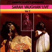 Click here for more info about 'Sarah Vaughan - 'Live' Vol. 2'