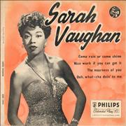 Click here for more info about 'Sarah Vaughan - Sarah Vaughan'
